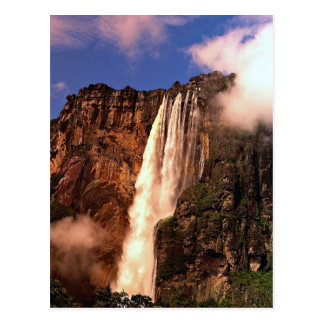 Angel Falls on Auyan Tepui, Venezuela Postcard