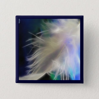 Angel Feather! 2 Inch Square Button