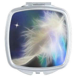 Angel Feather Compact Mirrors