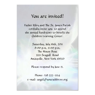 Angel Feather Fundraiser Card