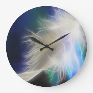 Angel Feather  Wall Clock