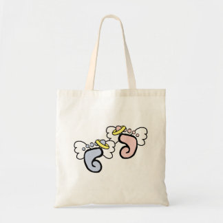 Angel Feet Tote Bag