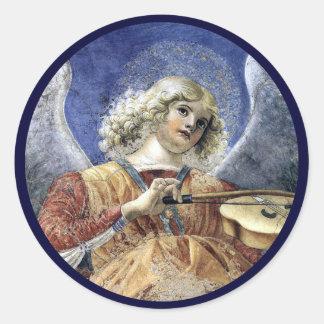 Angel Fine Art Renaissance Sticker