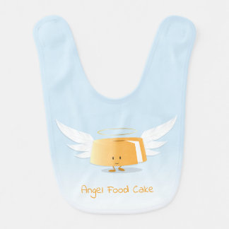 Angel Food Cake | Baby Bib