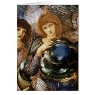 Angel from the Creation of Days Burne-Jones Card