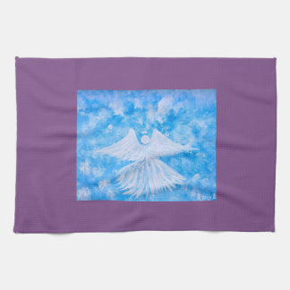 Angel from the sky kitchen towel