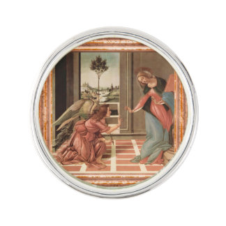 Angel Gabriel And Mary Lapel Pin