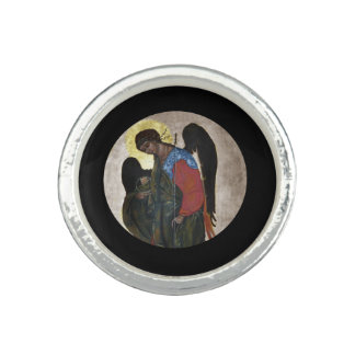 Angel Gabriel Icon Photo Rings