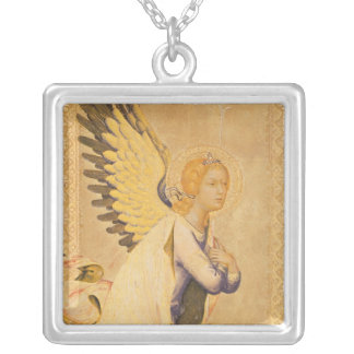 Angel Gabriel Silver Plated Necklace