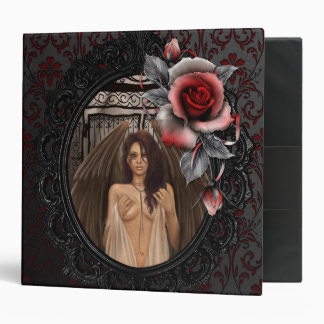 Angel Gates Vinyl Binder