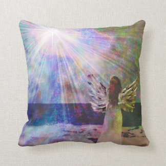 Angel Gazing 16x16 Pillow