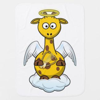 Angel Giraffe Baby Blanket
