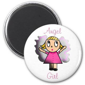 Angel Girl Magnet