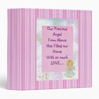 Angel Girl Photo album 3 Ring Binder