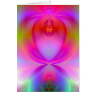 Angel Glow Customizable Fractal Card