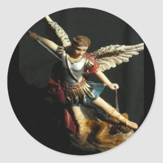 Angel Guardian Saint Michael sticker