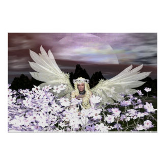 Angel Guardian Watch over Me Poster