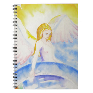 Angel Healing the Planet Notebook