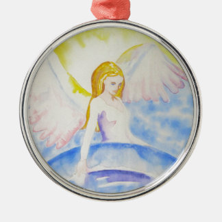 Angel Healing the Planet Ornament