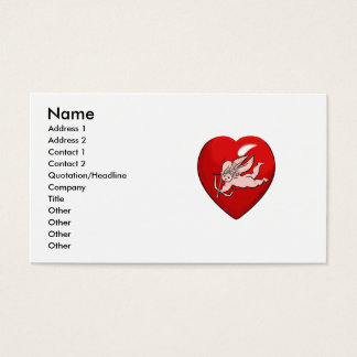 angel heart business card