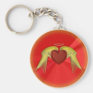 Angel Heart Keychain