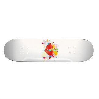 Angel_Heart Skate Board Deck