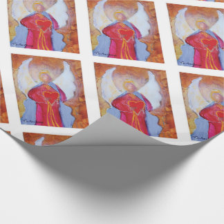 Angel Heart Wrapping Paper