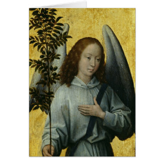 Angel Holding an Olive Branch Card