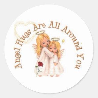 Angel Hugs Sticker