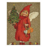 Angel in A Red Coat Poster