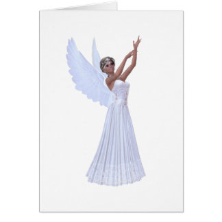 Angel in Blue Card