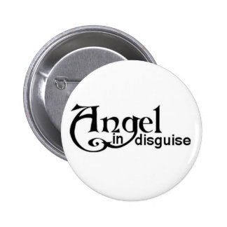 Angel in disguise pinback buttons