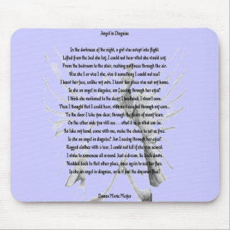Angel In Disguise Mouse Pad
