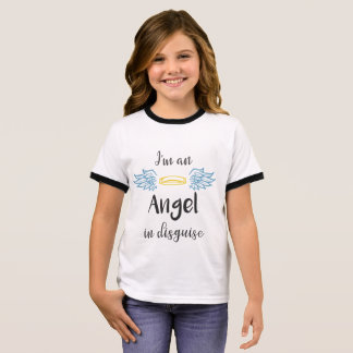 Angel in Disguise Ringer T-Shirt