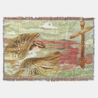 Angel in Flight Design 1 throw