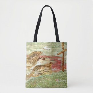 Angel in Flight Design 1 Tote Bag