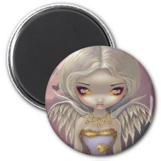 """Angel in Lilac"" Magnet"