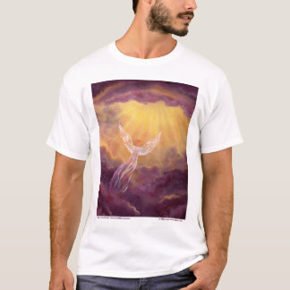 Angel in Mauve Clouds T-Shirt