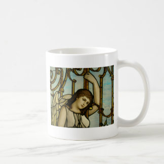 Angel In Stained Glass Coffee Mug