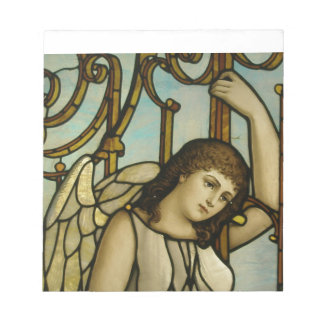 Angel In Stained Glass Notepads
