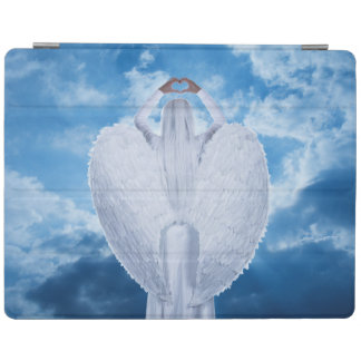 Angel in the clouds iPad cover