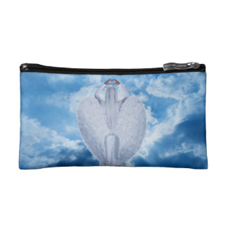 Angel in the clouds makeup bag
