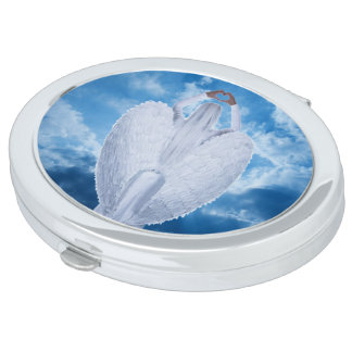 Angel in the clouds travel mirrors