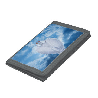 Angel in the clouds trifold wallet