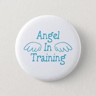 Angel in Training 2 Inch Round Button