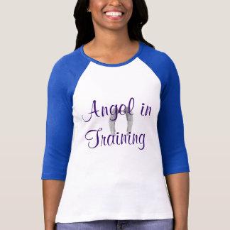 """Angel in Training"" Baseball Tee"