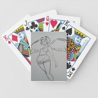 Angel Inked and Cute Girl Poker Deck