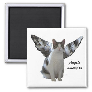 Angel Kitty Magnet