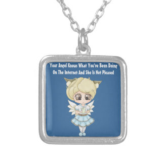 Angel Knows What You've Been Doing On The Internet Jewelry