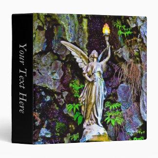 Angel & Lamp Notebook 3 Ring Binders